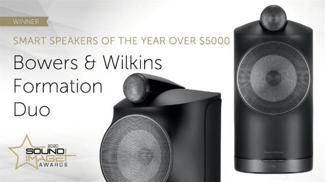 B&W Formation Duo win Smart Speakers of the Year 2020