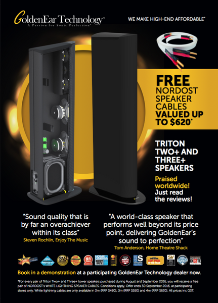 GoldenEar Promotion | Brisbane HiFi