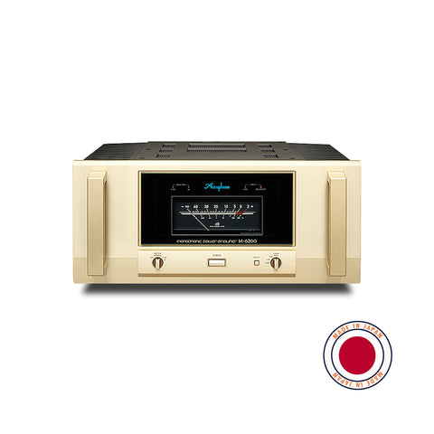 Accuphase M-6200 1,200W/1Ω  Monophonic Power Amplifier Accuphase - Brisbane HiFi