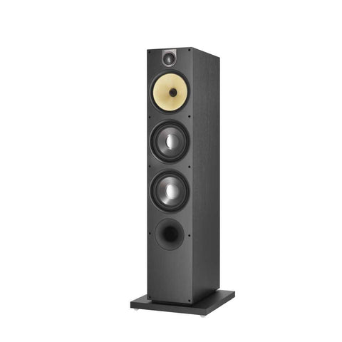 Black Ash B&W 683 S2 Floorstanding Speakers Bowers & Wilkins - Brisbane HiFi