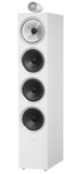 White B&W 702 S2 Floorstanding Speakers Bowers & Wilkins - Brisbane HiFi