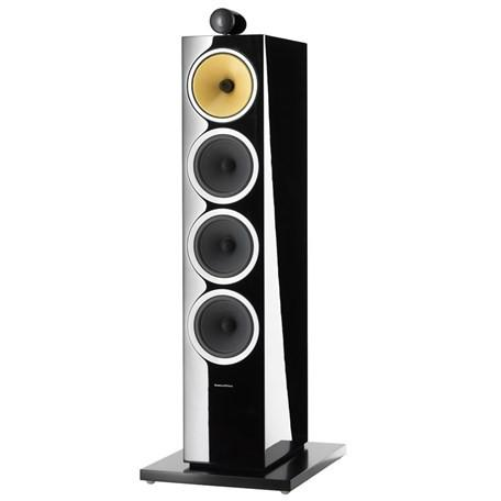 Gloss Black B&W CM10 S2 Floorstanding Speakers Bowers & Wilkins - Brisbane HiFi