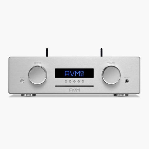 Silver CS 8.2 Compact Streaming CD Receiver AVM - Brisbane HiFi