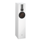 White DALI Opticon 5 Floorstanding Speakers DALI - Brisbane HiFi