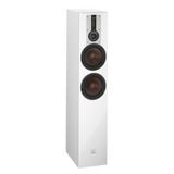 White DALI Opticon 6 Floorstanding Speakers DALI - Brisbane HiFi