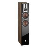 Light Walnut DALI Opticon 6 Floorstanding Speakers DALI - Brisbane HiFi