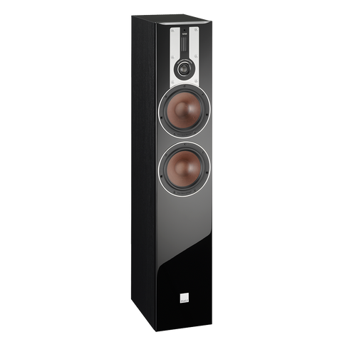 Black Ash DALI Opticon 6 Floorstanding Speakers DALI - Brisbane HiFi