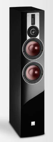 Black DALI Rubicon 6 Floorstanding Speakers DALI - Brisbane HiFi