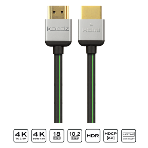 EVO High Speed HDMI Cable Kordz - Brisbane HiFi