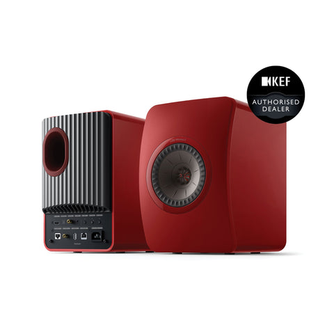 Crimson Red Special Edition KEF LS50 Wireless II Wireless Speaker System KEF - Brisbane HiFi