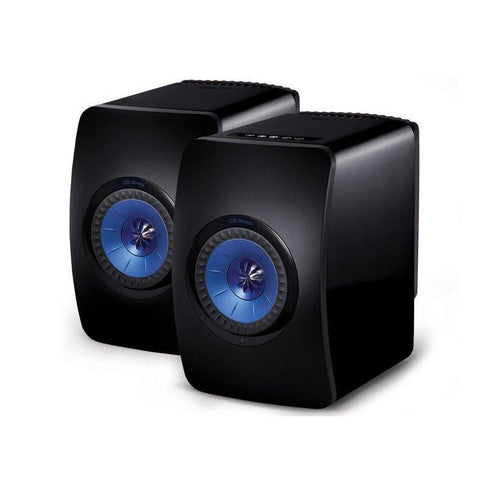 Black KEF LS50 Wireless KEF - Brisbane HiFi
