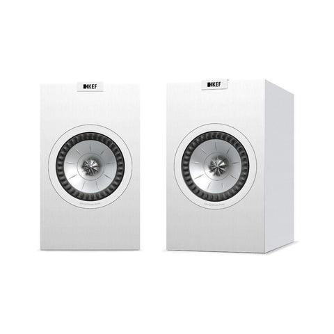 White KEF Q150 Bookshelf Speaker KEF - Brisbane HiFi