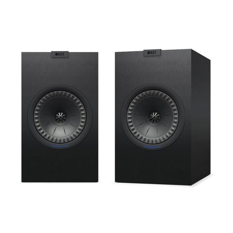 Black KEF Q350 Bookshelf Speakers KEF - Brisbane HiFi