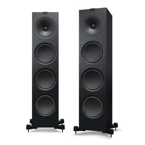 Black KEF Q950 Floorstanding Speakers KEF - Brisbane HiFi