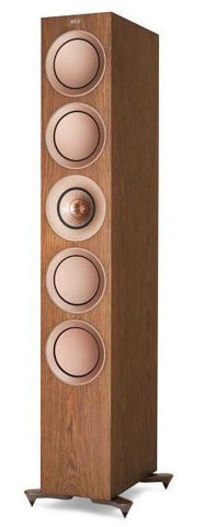 Walnut KEF R11 Floorstanding Speakers KEF - Brisbane HiFi