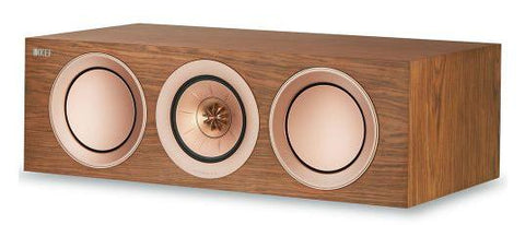 Walnut KEF R2c Centre Speakers KEF - Brisbane HiFi