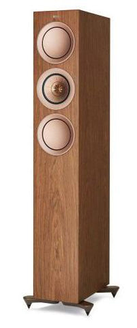 Walnut KEF R5 Floorstanding Speakers KEF - Brisbane HiFi