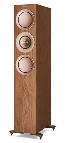 Walnut KEF R7 Floorstanding Speakers KEF - Brisbane HiFi