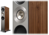 Walnut KEF Reference 3 Floorstanding Speakers KEF - Brisbane HiFi