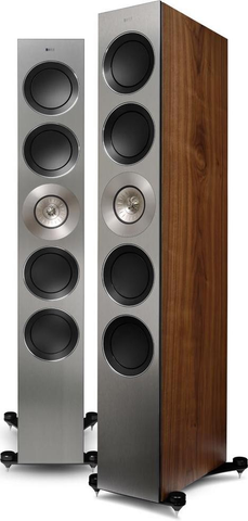 Walnut KEF Reference 5 Floorstanding Speakers KEF - Brisbane HiFi