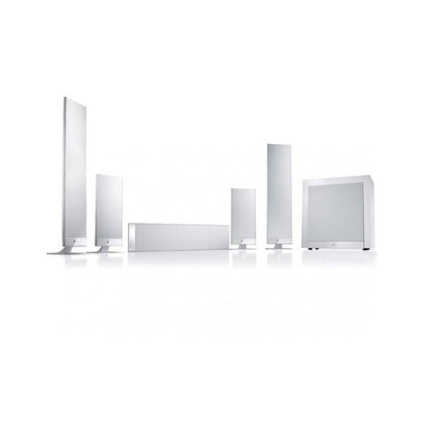 White KEF T205 Surround Sound System KEF - Brisbane HiFi