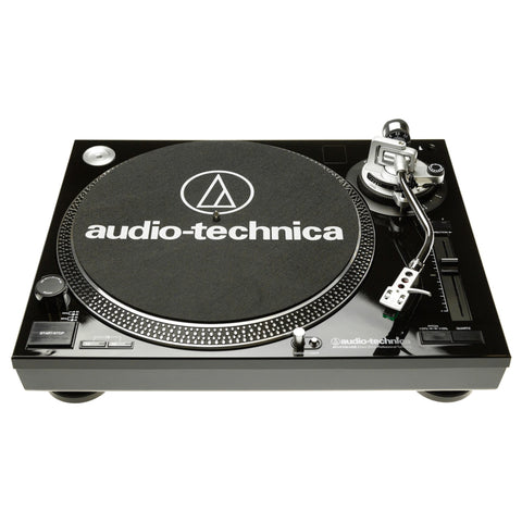Gloss Black LP120-USB Turntable Audio Technica - Brisbane HiFi