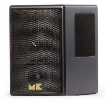 Black M4T Tripole Surround Sound Speakers M&K Sound - Brisbane HiFi