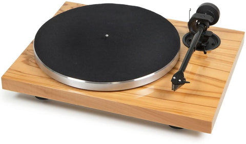 Olive / No Cartridge Pro-Ject Audio 1xpression Carbon Classic Turntable Pro-Ject Audio - Brisbane HiFi