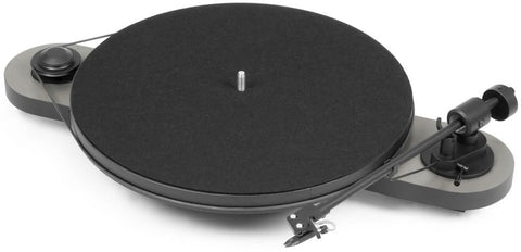Black/White Pro-Ject Audio Elemental Turntable Pro-Ject Audio - Brisbane HiFi