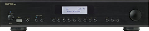Black Rotel A12 Integrated Amplifier Rotel - Brisbane HiFi