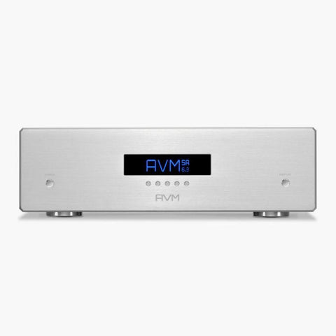 Silver SA 6.3 Stereo Power Amplifier AVM - Brisbane HiFi