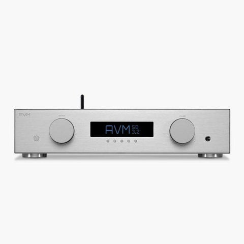 Silver SD 3.2 Streaming Preamplifier AVM - Brisbane HiFi