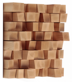 64 (595x595x135) / Light Brown Vicoustic Multifuser Wood Diffuser Vicoustic - Brisbane HiFi