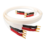 Spade / 1m White Lightning Speaker Cable Nordost - Brisbane HiFi