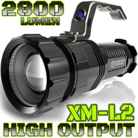 HIGH OUTPUT SPOTLIGHT | 2,800 LUMEN | CREE T6 LED | 6.5"