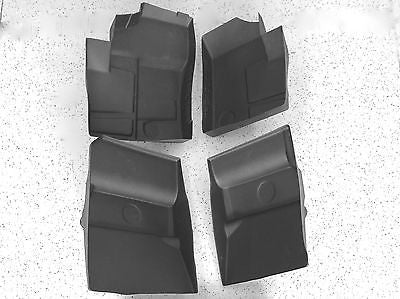 4 PC KIT 2014-2015 Polaris RZR XP 1000 rubber floor mats Liners Front AND Rear