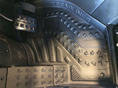 CAN-AM COMMANDER MOLDED TO FIT RUBBER FLOOR MATS LINERS   2012 2013 2014 2015