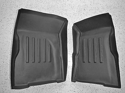 NEW H1 Hummer Formed Floor Mats Weather Liner, Digital tech, Front 1992-2004