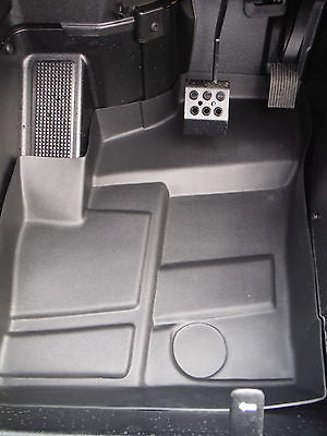 Polaris RZR XP 1000 4 Rubber Floor Mats liners 2014 2015 protectors parts