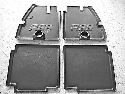 NEW Robinson R66 Helicopter floor mats trays pans part with cup holders set of 4