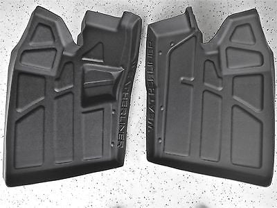 New Polaris Razor RZR Rubber Floor mats, liners, Laser Fit! 570 2009-2015