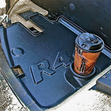Robinson R22 Helicopter floor mats/trays with cup holders set