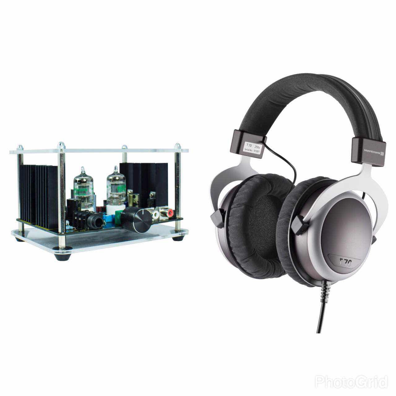 [Jaben Combo] Beyerdynamic T70(250 Ohm) Headphones & Elemental Watson II Tube Headphone Amplifier