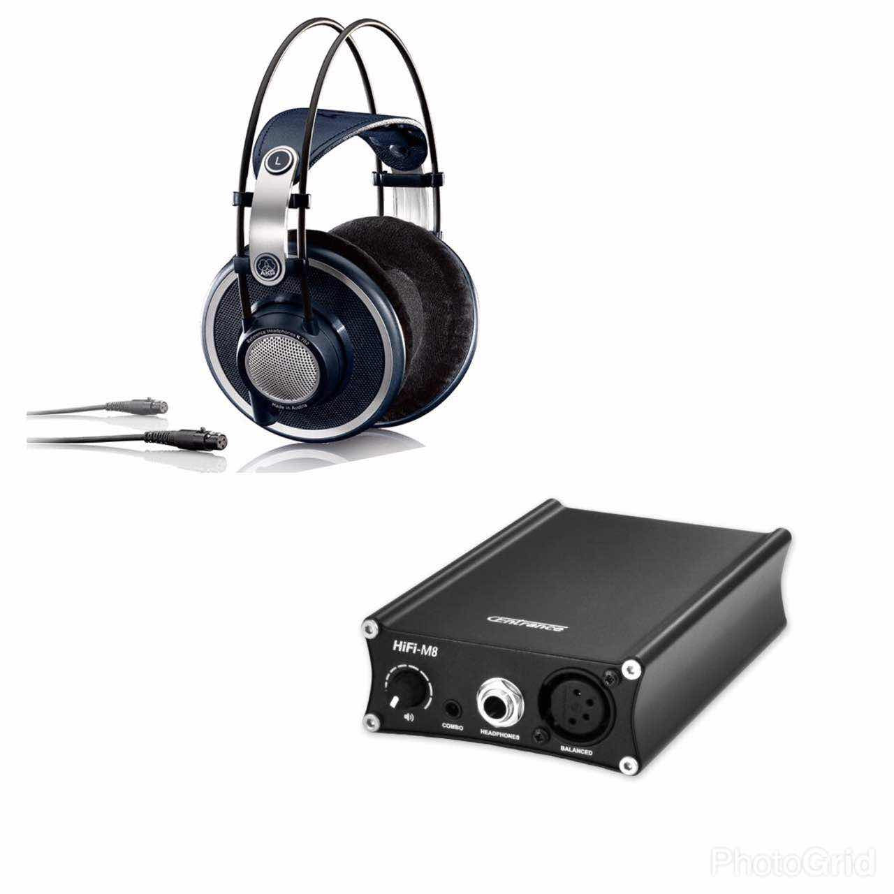 AKG k702 Balanced Ready Version + CEntrance HiFi-M8 XL4 model