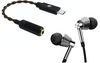 [Jaben Combo] HIDIZS S1 Type-C to 3.5mm USB DAC Cable & 1More E1001 Triple Driver In-Ear Headphone Silver