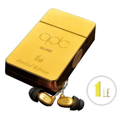 QDC 1LE Limited Edition High End Balanced Armature In Ear Earphones