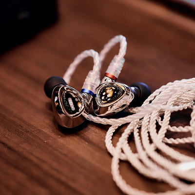 [Jaben Combo] Shanling ME500 Platinum Edition Triple Driver Hybrid IEM + Shanling UP2 Bluetooth DAC/AMP