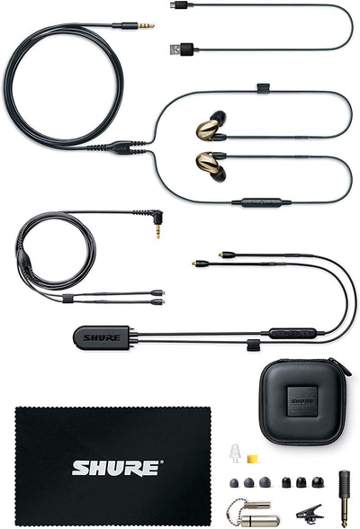 Shure SE846 Wireless Earphones with Bluetooth 5.0, Sound Isolating Earphones