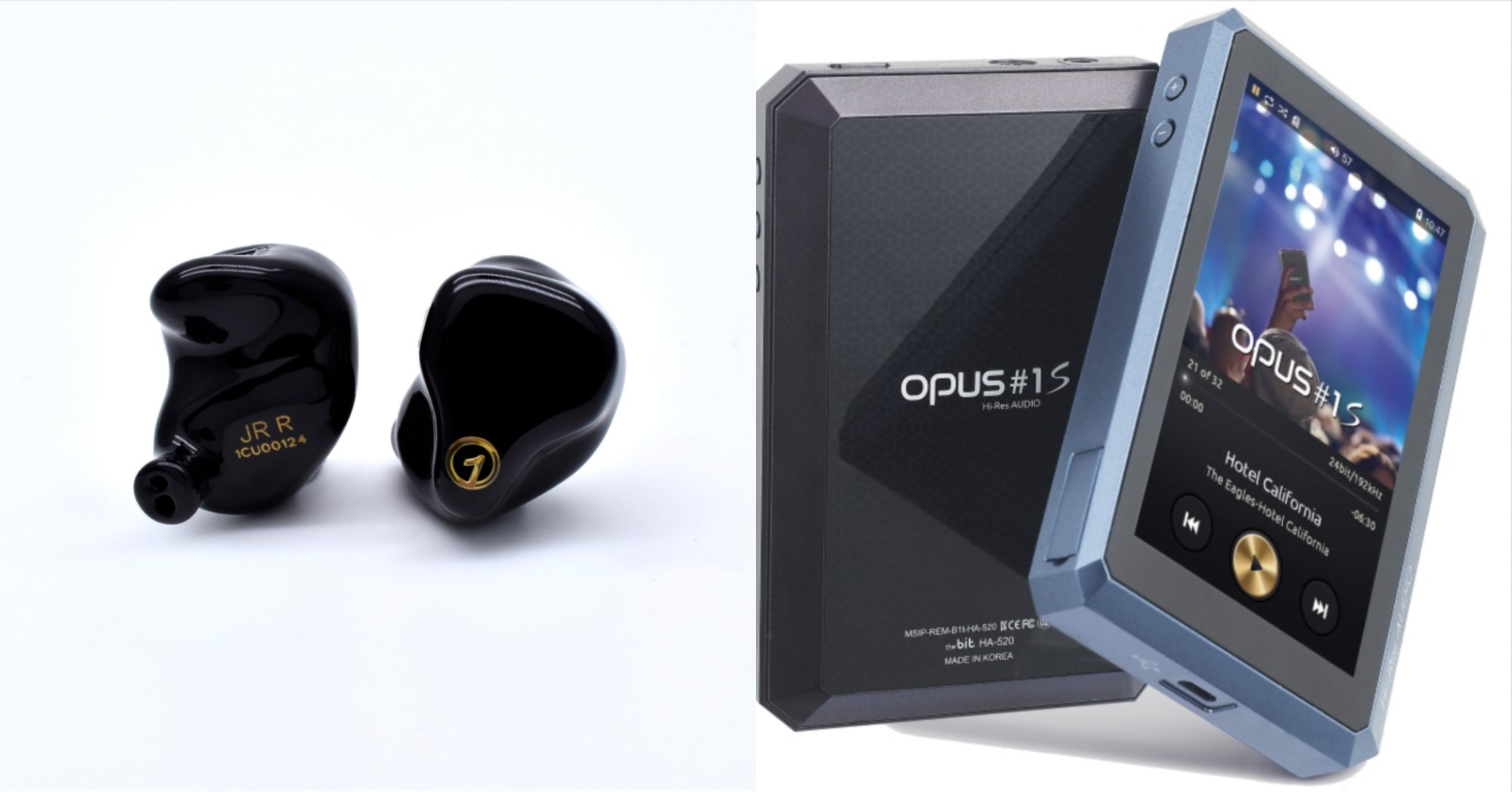 [Jaben Combo] Opus #1S Digital Audio Player & 1Custom JR Tunable Universal In-Ear Monitor