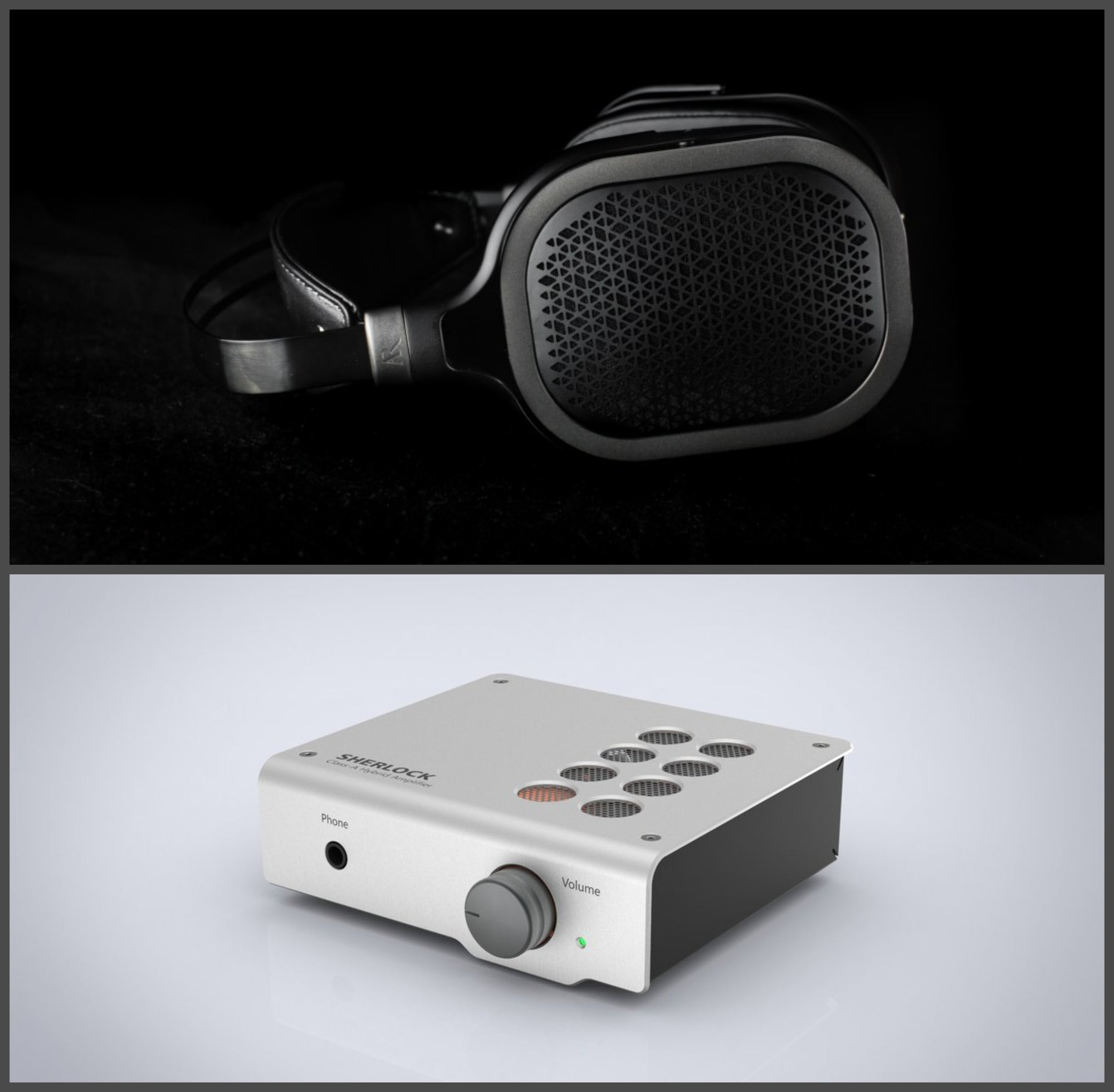 [COMBO] Acoustic Research AR-H1 Headphones + Elemental Sherlock Tube Amplifier